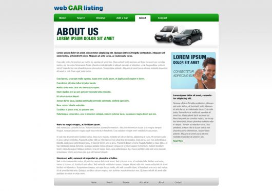 Car Dealer Website Template 96