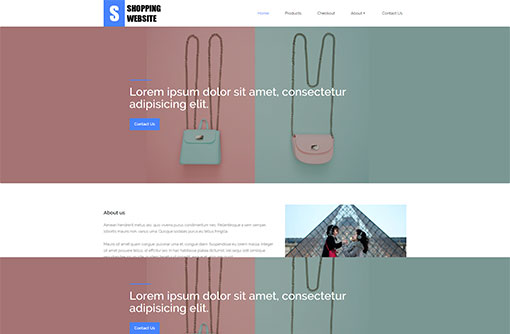 Shopping Template. 30 book store website themes templates free ...