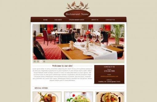 Restaurant Website Template