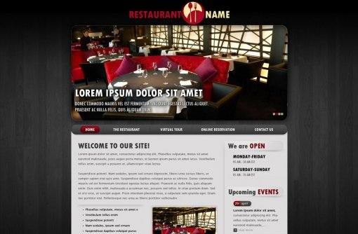 Restaurant Website Template
