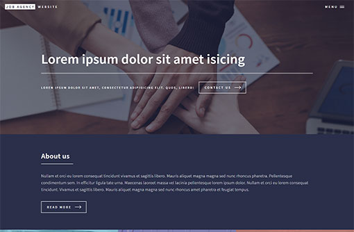 Job Website Template