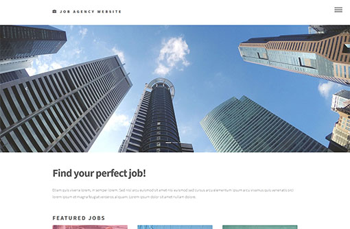 Job Website Template  Free Job Portal Templates  Phpjabbers