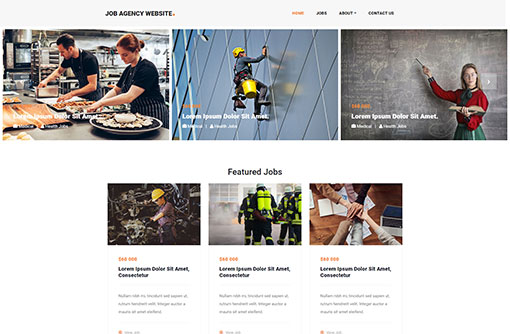 Job Website Templates | Free Job Portal Templates | PHPJabbers