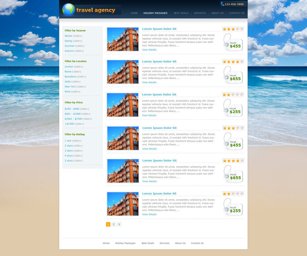 24 Tours and Travels Website Themes & Templates