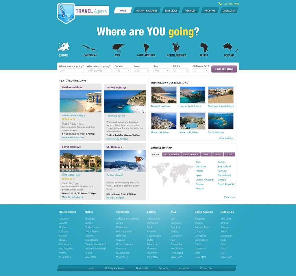 travel website template free travel agency website templates phpjabbers. Black Bedroom Furniture Sets. Home Design Ideas