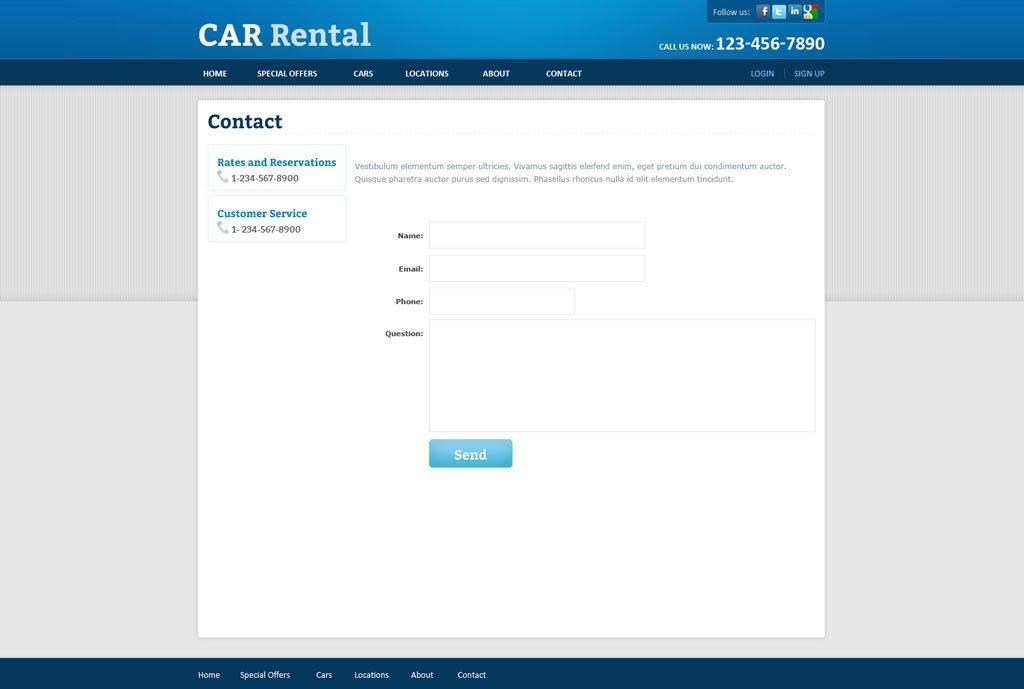 Car Rental Script Php Download