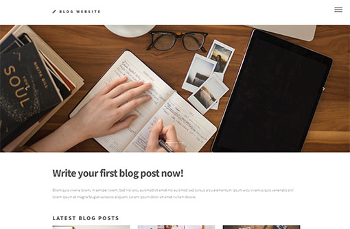 free blog templates blog website templates phpjabbers