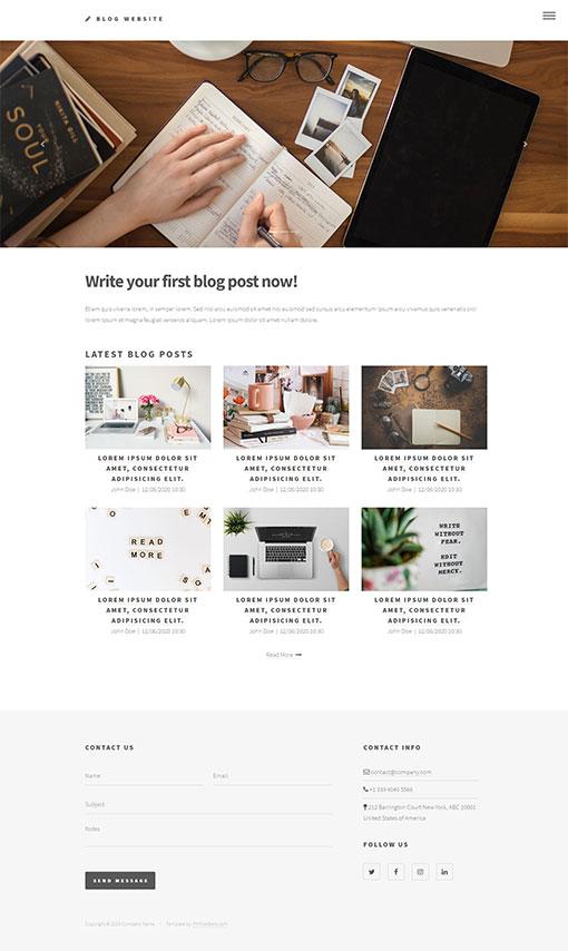 Blogger Template 174
