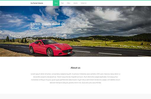Free php business website templates download | e-este.