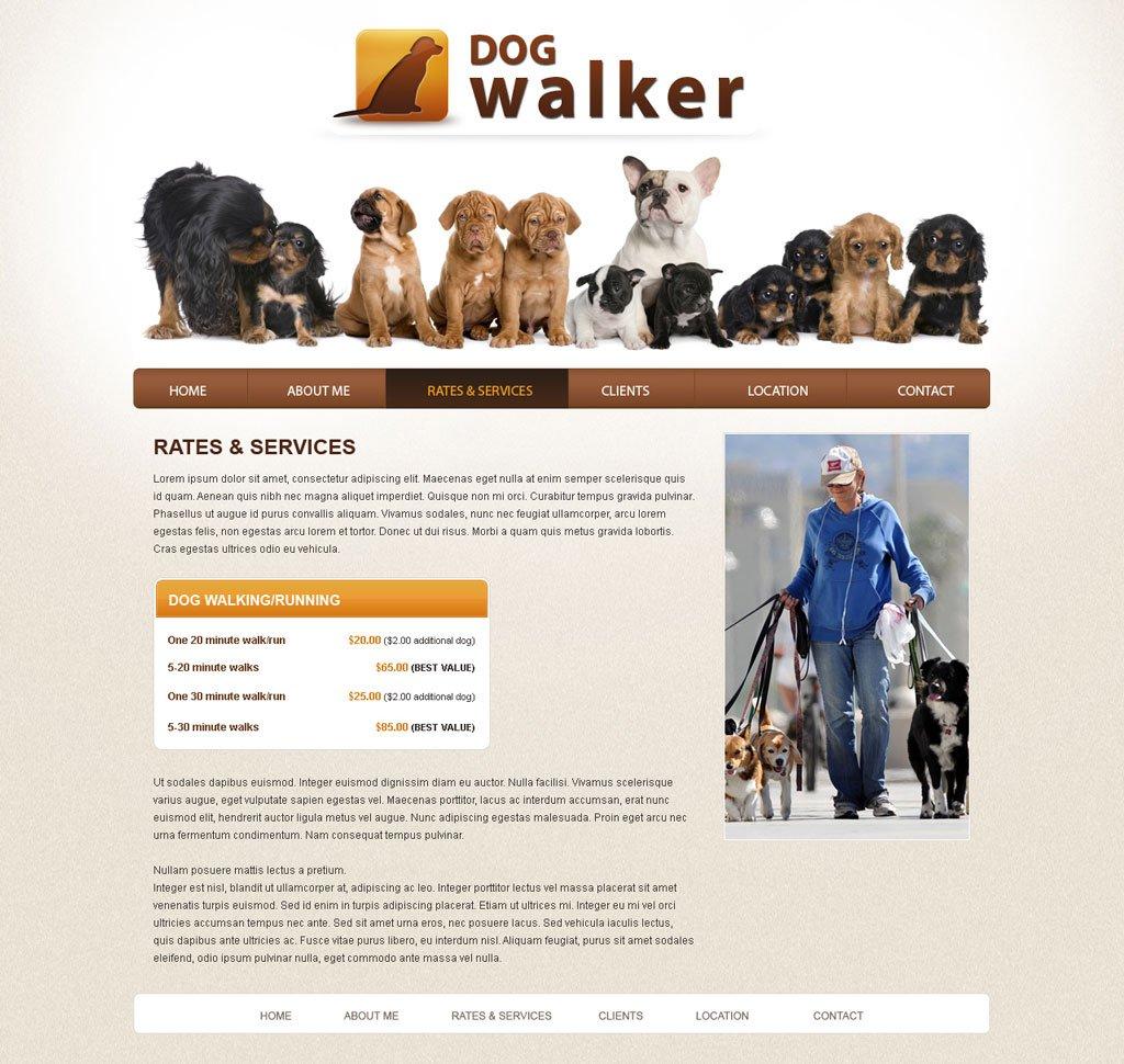 dog walker website template dog walking templates phpjabbers dog walker template 41