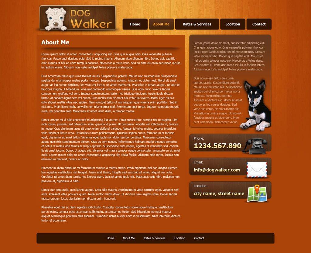 dog walking website template dog walker templates phpjabbers dog walking website template 47