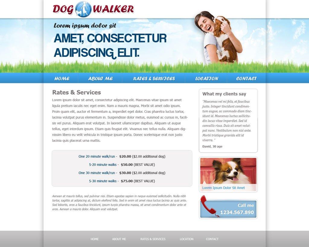 dog walking website template dog walker templates phpjabbers dog walking website template 48