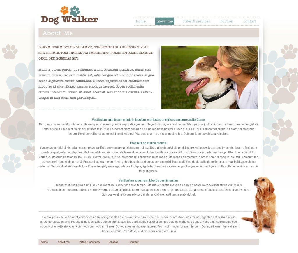 dog walking website template dog walker templates phpjabbers dog walking website template 51