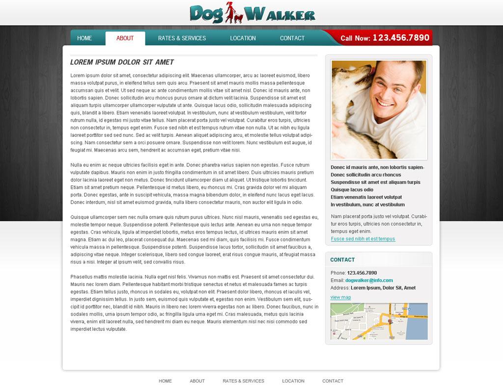 dog walking website template dog walker templates phpjabbers dog walking website template 55
