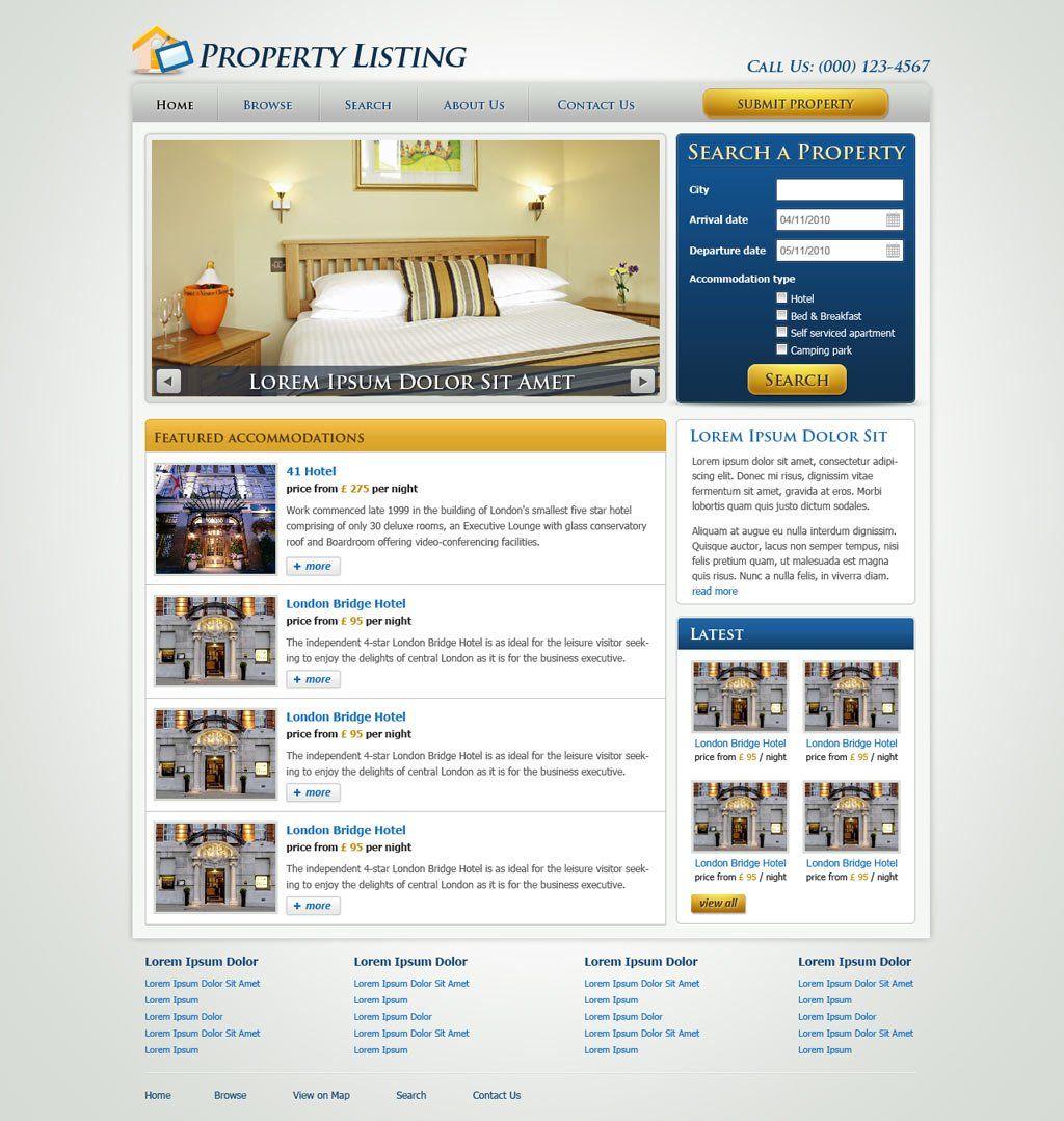real estate website template real estate web templates category real estate templates