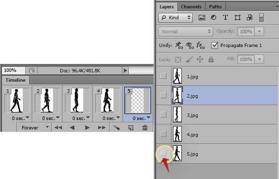 how to use timeline in photoshop